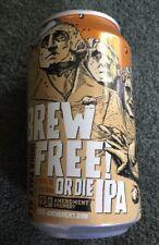 Brew Free Or Die IPA B/O ALUMINUM CAN 21st Amendment Brewery California