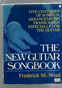 THE NEW GUITAR SONGBOOK 1985 5 centuries of songs words & music for guitar
