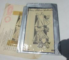 Anne Adams Pattern 1930's Sun Dress With Bonnet Girls Art Deco Rare Size 10