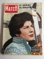 N1446 Magazine Paris-Match N°466 15 mars 1958 le drame de Soraya