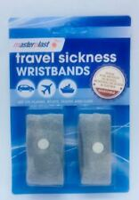 Masterplast Travel Sickness Wristband (2 Pack) Anti Nausea Pregnancy sickness Mo
