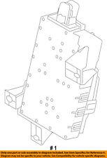FORD OEM 10-14 E-350 Super Duty Anti-Theft Alarm-Control Module BC2Z15604D