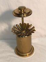 Vintage Mid Century 1950s Brass POP UP 25 Cigarette Holder Dispenser GERMANY