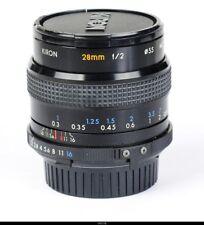 Lens Kiron 2/28mm MC For Minolta MD