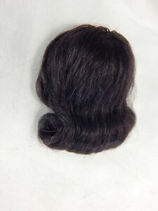 "Heidi Ott Doll House Miniature Doll Wig for Female adult 5.5"" Dark Brown #XW01-4"