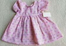 Süßes Kleidchen für einen ca. 30-35 cm Bären oder Puppe, Handarbeit! Unikat