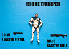 Star Wars Clone Trooper Action Figure! Army Builder!