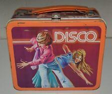Nice Vintage DISCO Dancing 1979 The Hustle Latin Swing Metal Lunchbox C7 Rare