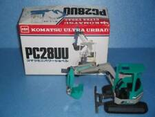 Rare Construction Machinery Miniatures Komatsu Pc28Uu Ultra-Small Swivel 1987