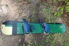 Vintage Santa Cruz 158 Snowboard T1 5 8E with Bindings S2