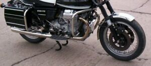 Moto Guzzi 850 T3, California & Spada reproduction exhaust headers, stainless