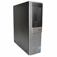 DELL 960 OPTIPLEX DESKTOP CORE2DUO 3.1 GHZ E8500 RAM 2GB HARD DRIVE 160GB WIN 7P