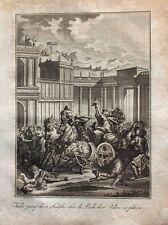 Tullia la joven Servius Tullius cadáver carruaje Roma rey dominación antiguos