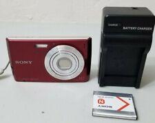 Sony Cyber-shot DSC-W510 12.1MP Digital Camera - Red *Fine/tested*