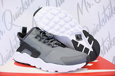 NIKE WOMENS AIR HUARACHE RUN ULTRA SZ 6 COOL GREY BLACK ANTHRACITE 819151 007