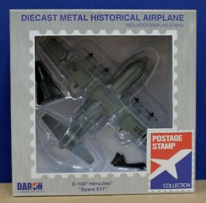 Daron Postage Stamp PS5330-3 C-130 Hercules Spare 617 Diecast 1:200 Mint/Sealed