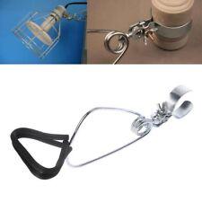 Metal Reptile Pet Light Heating Lamp Clamp Holder For Ceramic Bulbs Heater