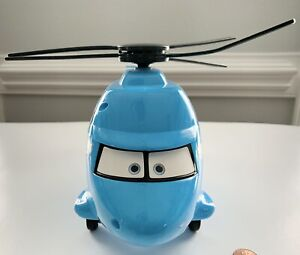 Disney/Pixar Talking ELECTRONIC SUPERCHAGED DINOCO Helicopter CARS L2560 GUC!