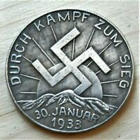 WW2 1933 GERMAN COMMEMORATIVE COLLECTORS COIN REICHSMARK