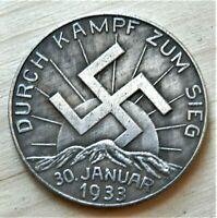 WW2 1933 GERMAN COMMEMORATIVE COLLECTORS COIN REICHSMARK