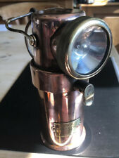 New listing vintage Barnsley mining/ fire brigade Ba lamp.ceag ltd.type b e.3