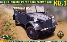 ACE - 1 des véhicules. le.gl.Einheits voitures 1:72 modèle-kit Cabriolet