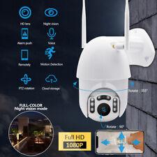 1080P Outdoor Camera HD IP66 CCTV Waterproof WiFi PTZ Security Wireless IR Cam