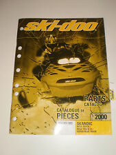SKIDOO  PARTS CATALOG  MANUAL 2000 SKANDIC WIDE TRACK / WIDE TRACK LC / SUPER WT