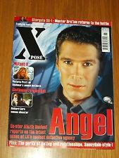 XPOSE #65 BRITISH MAGAZINE VISUAL IMAGINATION MARCH 2002 ANGEL MUTANT X GERE