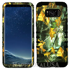 for Samsung Galaxy S8 & Plus KoolKase Hybrid Cover Case - Camo Mossy 04
