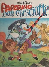 PAPERINO DON CHISCIOTTE  cartonato mondadori 1971 1a edizione