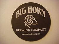 BEER COASTER ~*~ Big Horn Brewing Company CO ~*~ C.B. & Potts Brewery ~ COLORADO