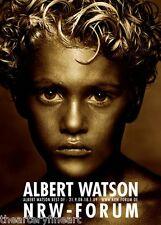 ALBERT WATSON 'Golden Boy, 1992' **CREASED** German Exhibition Poster HUGE 47x33
