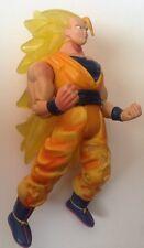 Dragonball Z Figures-Super Saiyan 3 GOKU - Translucent Gold Hair Battle Damaged