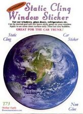 Mother Earth Static Cling Window Sticker