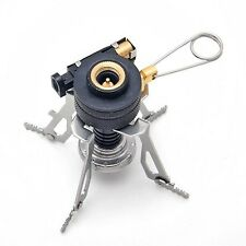 Portable Outdoor Picnic Gas Burner Foldable Camping Mini Steel Stove Case 2014