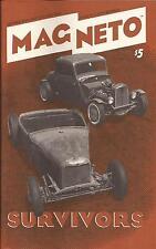Mag-Neto magazine #21. 1940 Tudor. 1932 5W. Buddy Hinman roadster. 1937 pickup.