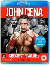 WWE John Cena - Greatest Rivalries Blu-ray 2014 DVD Region 2