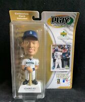 Ichiro #5, 2001 Play Makers Special Edition Bobblehead Seattle Mariners w/ card