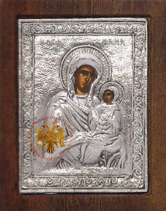 Orthodox Byzantine Silver Plated Icons Female Saints Orthodoxe Ikonen Heilige