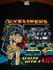THE EYELINERS Sealed With A Kiss T-Shirt MEDIUM NEW Punk Band