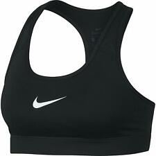 New Nike Victory Compression Bra Black Med Support Crossfit Gym Run Sz XS