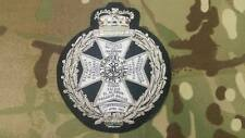 Royal Green Jacket RGJ Blazer Badge, Army, Embroidered, showing battle honours