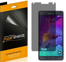2X Supershieldz Privacy Anti-Spy LCD Screen Protector For Samsung Galaxy Note 4