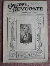 GOSPEL ADVOCATE ~ WILLIAM LIPSCOMB ~ MAY 14, 1931 ~ Church of Christ ~ RARE !!!