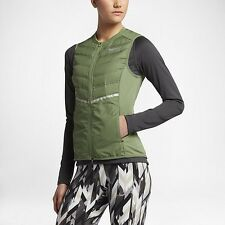Nike AeroLoft Women's Running Vest, Medium, Palm Green, 799849-331