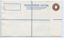 Belize postal stationery registered letter envelope unused (L114)