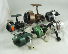 New listing 6 Old Vintage SPINNING & SPINCAST REELS -  Daiwa - Johnson - Shakespeare + More
