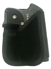 Wallet Style Gun Holster fits Ruger LCP 380 with Laser Easy Carry Protection