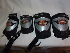 Harley Davidson Motor Cycle Knee Pads Elbow Pads Childs